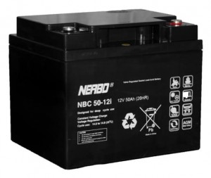Akumulator NERBO NBC 50-12i 50Ah
