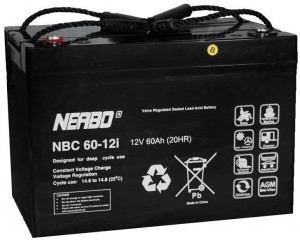 Akumulator NERBO NBC 60-12i 60Ah