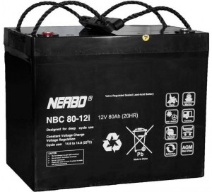 Akumulator NERBO NBC 80-12i 80Ah
