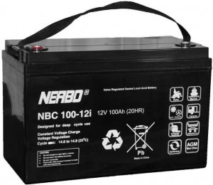 Akumulator NERBO NBC 100-12i 100Ah