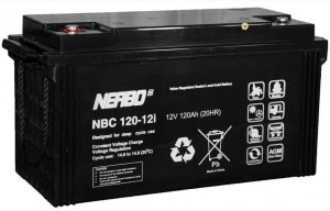 Akumulator NERBO NBC 120-12i 120Ah