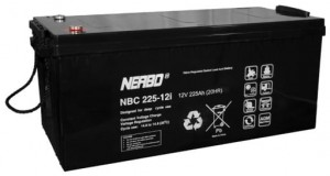 Akumulator NERBO NBC 225-12i 225Ah