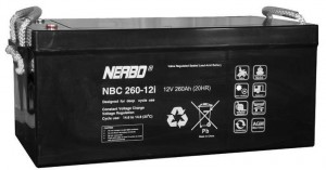 Akumulator NERBO NBC 260-12i 260Ah